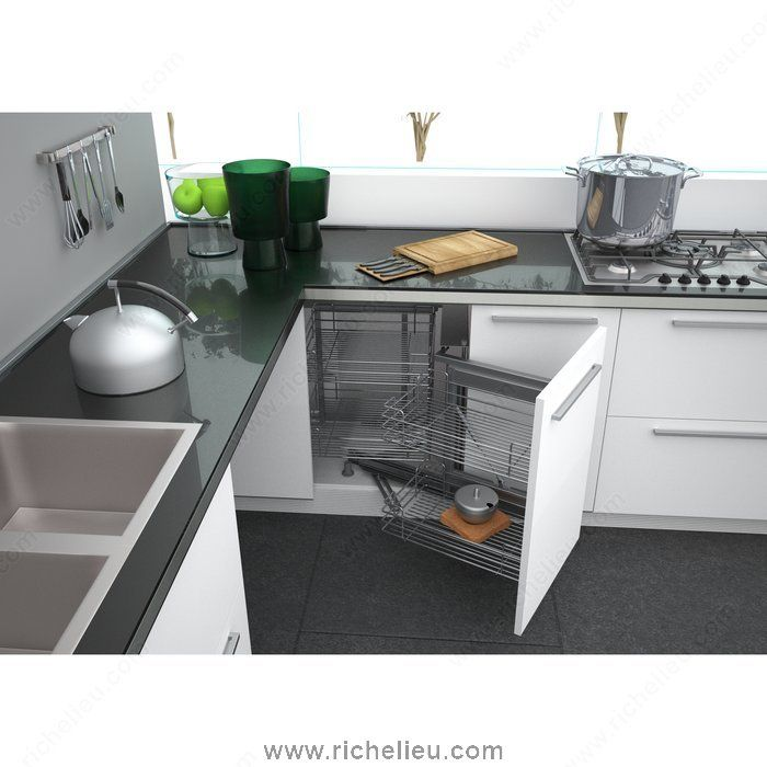 Smart Corner III Set - Right Opening - WEBKIT1211294 - Richelieu Hardware