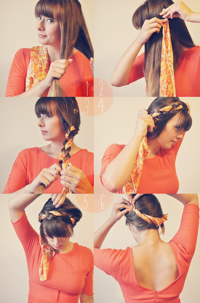 awesome 8 Easy Hair Tutorials Mit Bandana #Bandana #Easy #Hair #Tutorials Check more at http://haare-frisuren.com/8-easy-hair-tutorials-mit-bandana/