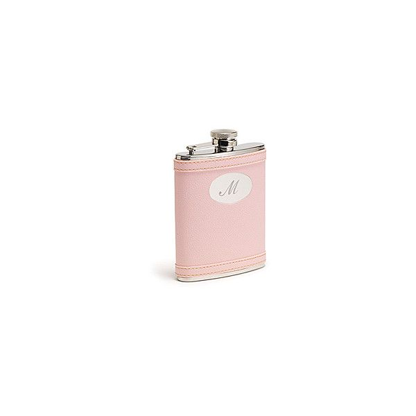 Pink Flask - Flasks - The Knot Wedding Shop (£4.51) ❤ liked on Polyvore featuring home, home decor, fillers, pink, pink fillers, decor and accessories