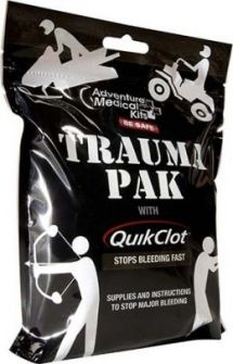 Trauma Pak with QuikClot - Adventure Medical Kits Sportsman Series Medical Kits