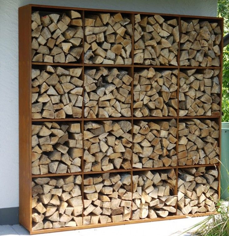 There are so many satisfying ways to neatly stack firewood—on shelfs, in open-air sheds, under tarpaulins. Here are ten of our favorite weatherproof ways to stack logs and kindling this winter: