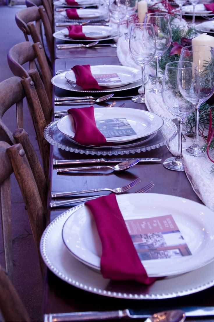 We love our Farm Tables in almost every combination of table setting
