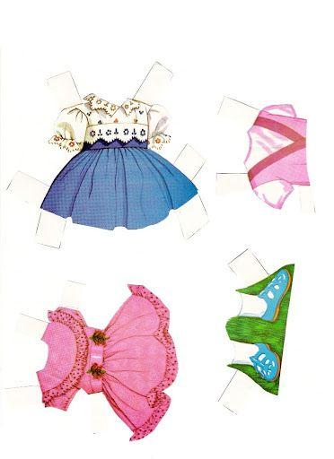 (⑅ ॣ•͈ᴗ•͈ ॣ)                                                            ✄Chatty Cathy Paper Doll