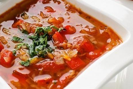Холодный суп из свежих овощей рецепт, холодный овощной суп рецепт :: JV.RU