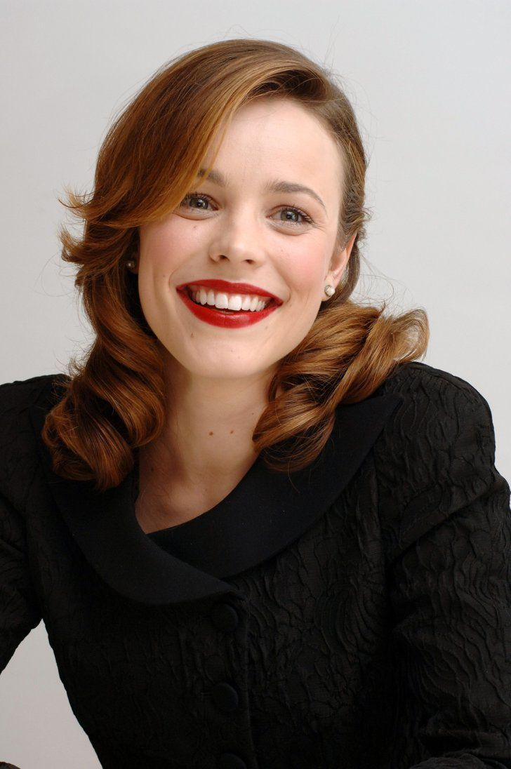 Pin for Later: 33 Times You Felt Really, Really Jealous of Rachel McAdams When She Looked Like an Old Hollywood Star