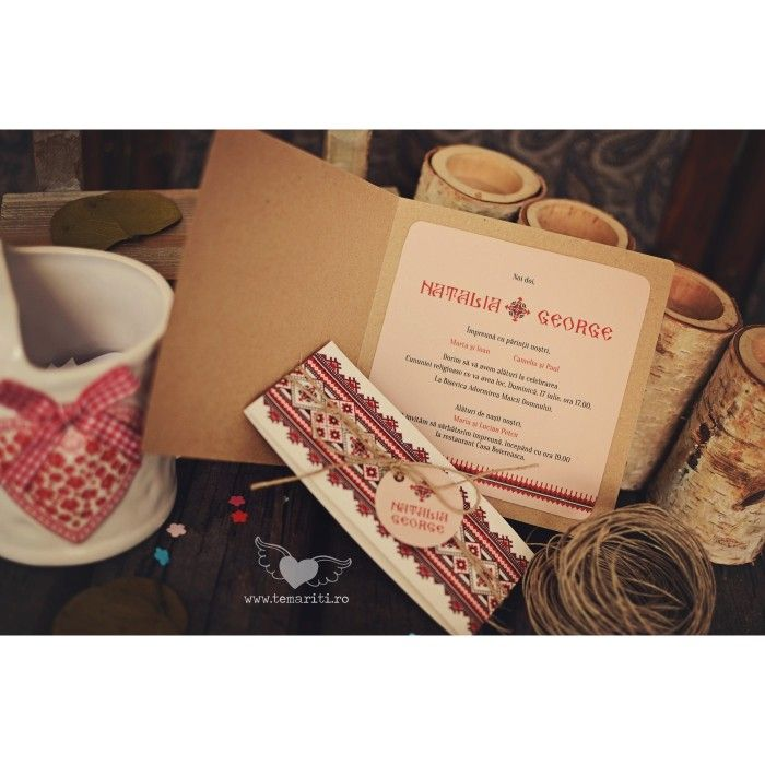 Invitatie nunta traditionala