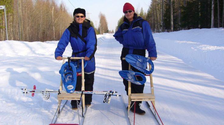 Snow Adventure Day -Rovaniemi, Lapland, Finland