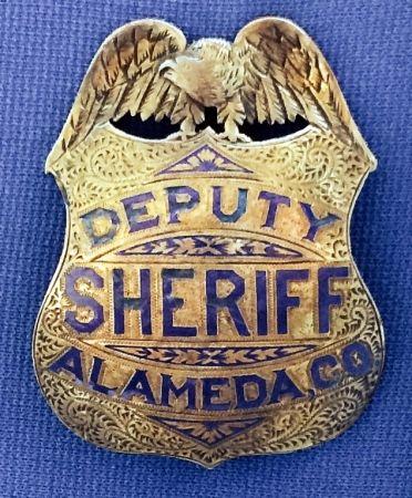 Alameda county sheriff deputy vintage
