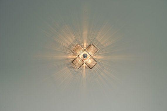Metal cross  wall light by herywalery on Etsy, €85.00