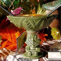In honor of the Enchanted Tiki Room's 45th anniversary, Disney released a commemorative Rongo Bowl. TDIF celebrates with a special recipe using 4 ounces of 80-proof booze!