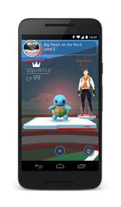 Pokémon GO Gym Screenshot