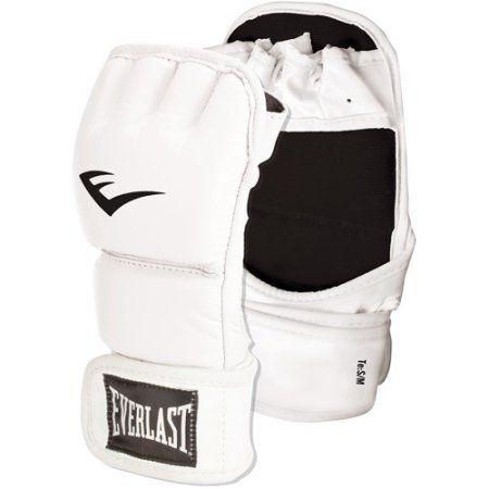 Everlast Womens Wristwrap Kickboxing Glove, White