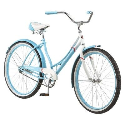 "Schwinn Womens Legacy 26"" Cruiser Bike- Blue/White"