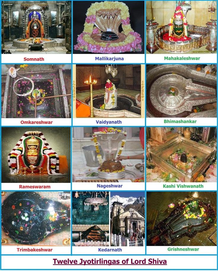 Twelve Jyotirlings of Lord Shiva