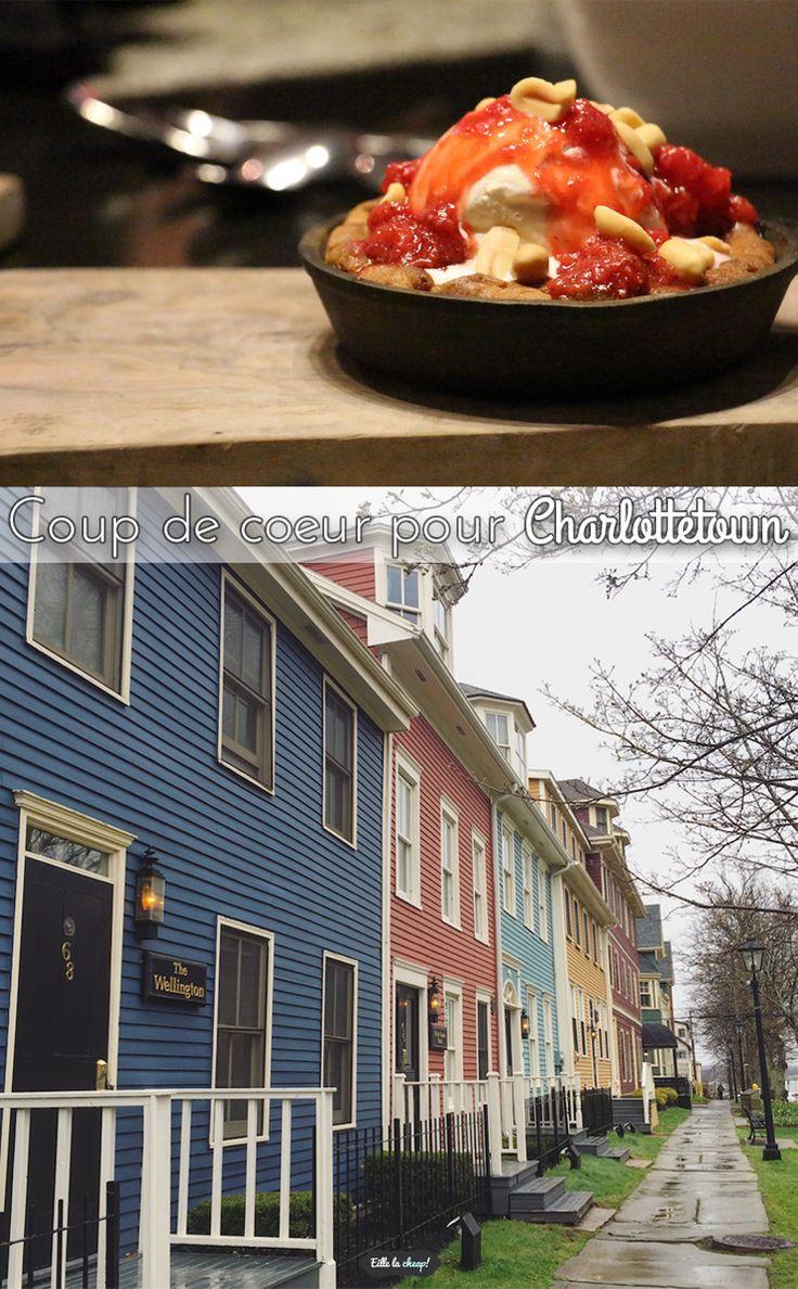 J'ai passé moins de 24h à Charlottetown, île-du-Prince-Édouard. Il faisait froid et il pleuvait. Pourtant... j'ai eu un coup de coeur! Je vous explique pourquoi sur eillelacheap.com