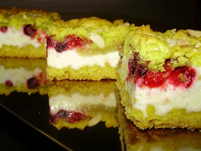 Čistinkina vareška: Strúhaný ovocný koláč