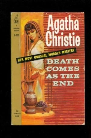 1114 best agatha christies a m book covers films images on death comes as the end published by pocket books cardinal fandeluxe Choice Image