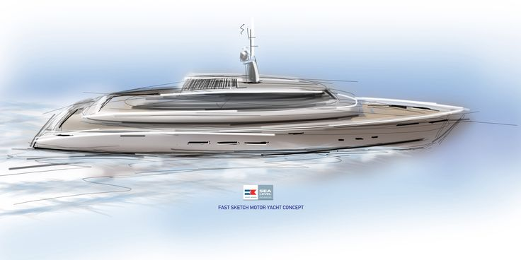 70m motor yacht concept