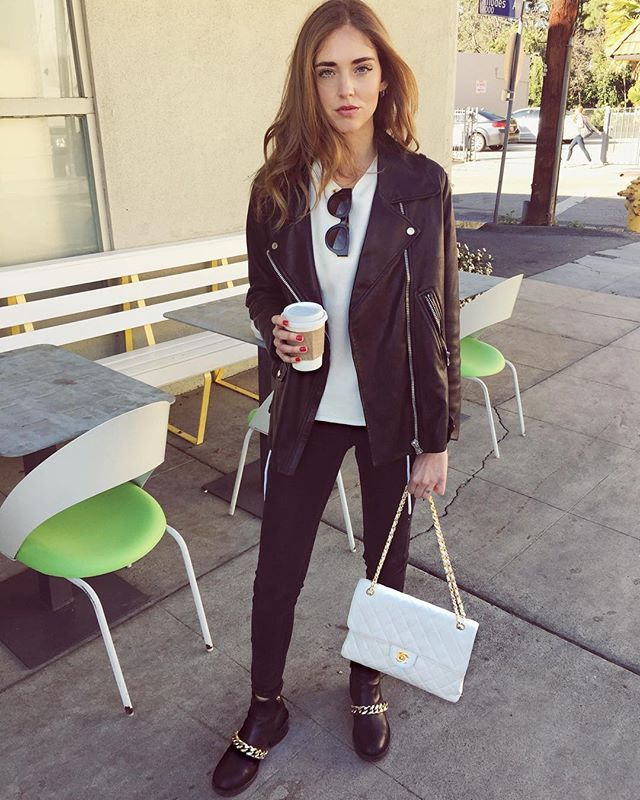 17 best images about chiara ferragni on pinterest leopard print sneakers leather jackets and. Black Bedroom Furniture Sets. Home Design Ideas
