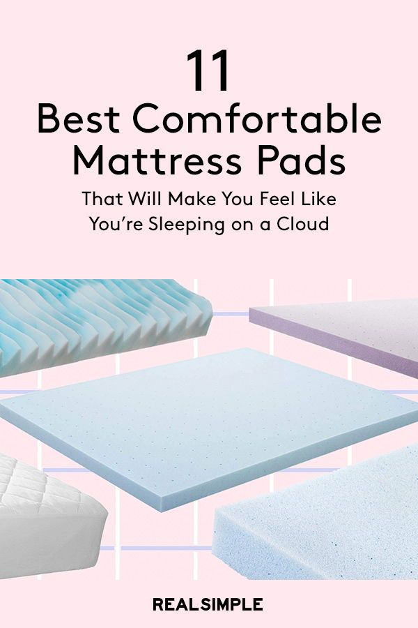 The 11 Best Mattress Toppers According To Customers Mattress Topper Cooling Mattress Pad Firm Memory Foam Mattress