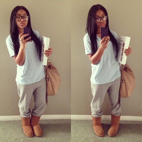 Tumblr sweatpants outfits - Google Search | Inspiration | Pinterest | Sweatpants outfit Lazy ...