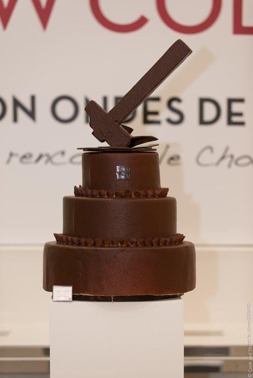 #Création en #chocolat pour le SHOW'COLAT 2014 de NICETOILE