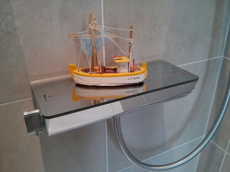 Hansgrohe Ecostat Select 1316100  shower mixer, with fishing boat.