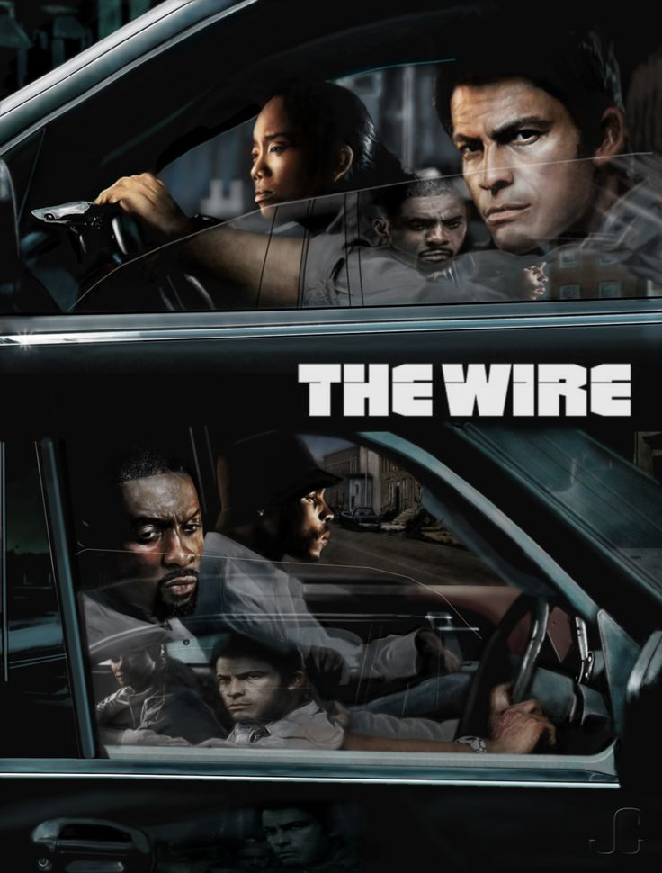 The Wire, one of the best series on TV.