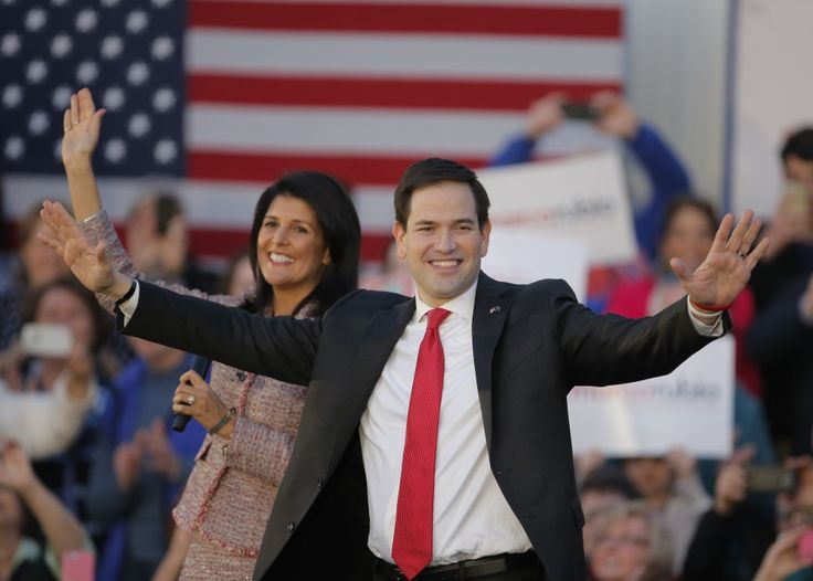During a campaign rally for Marco Rubio in South Carolina an elderly man in the crowd collapsed just as the presidential candidate was giving a speech. Rubio stopped, and prayed for the man.