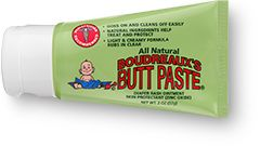 "This is very interesting! I did a search on this ""Butt Paste"" and one website says: Boudreaux's Butt Paste has been shown to be effective in many other minor skin disorders such as: Abrasions, Acne, Chafed Skin, Chapped Lips, Feminine Irritation, Fever Blisters, Heat Rashes, Hemorrhoids, Incontinent Rashes, Jock Itch, Minor Burns, Oral Lessions, Poison Ivy, Poison Oak, Psoriasis, Razor Burn, Rectal Itching, and Shingles. I shall try n see what happens."