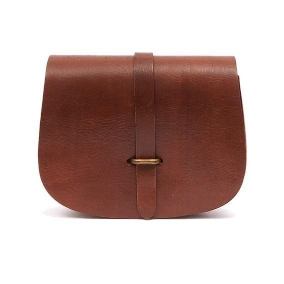 Loop leather bag
