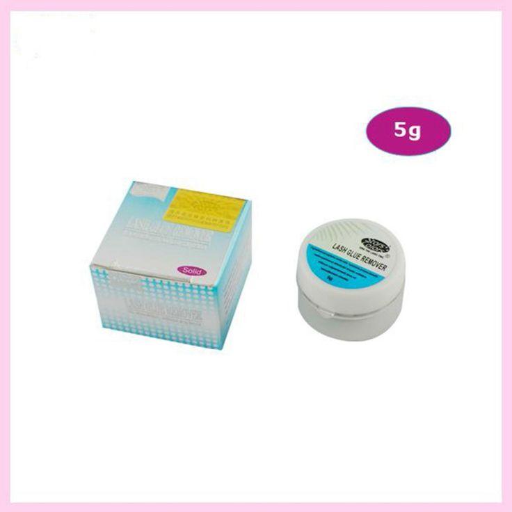 4pcs Solid Cream Eyelash Remover Individual False Eyelashes Extension Tools False Eye Lashes Glue Remover 5g/bottle #Affiliate
