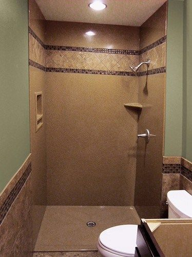 The Onyx Collection - gallery of installed showers