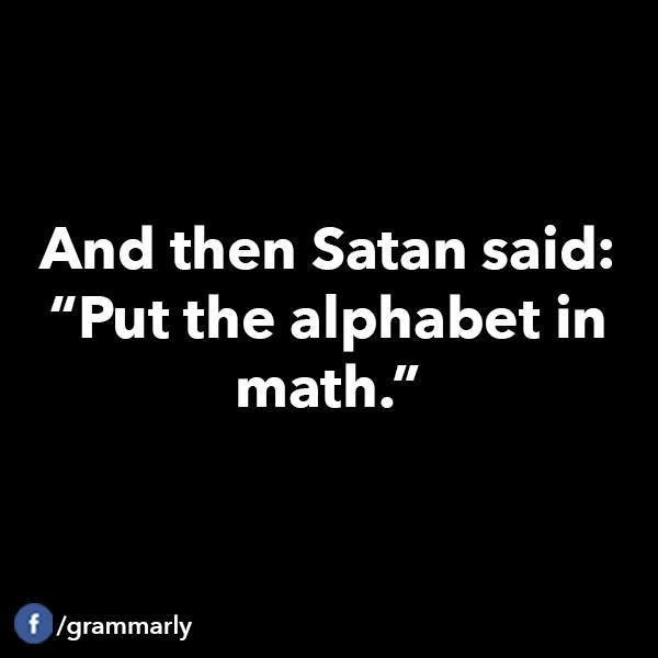 Quotes About Hating Math: 25+ Best Ideas About Algebra Humor On Pinterest