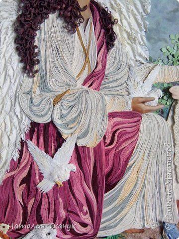 """Здравствуйте, дорогие жители самой замечательной Страны Мастеров!!! Сегодня к вам со своей любимой темой """"Ангелы"""".  Вот пополнила я свою коллекцию еще одной работой, которая излучает безмятежное добро и ласково освещает мою страничку. Красивые картинки ангелов словно из волшебной сказки. Ангелочки несут на своих крыльях силы добра. Чудесные создания божественной красоты незримо сопровождают нас всюду. И  только здесь мы видим их воочию во всей красе. Позитивным настроем, который передают нам…"""