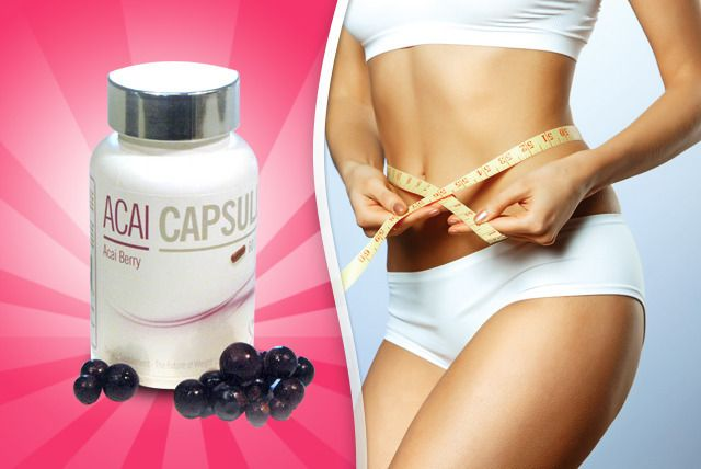 60 or 180 Acai Berry Capsules