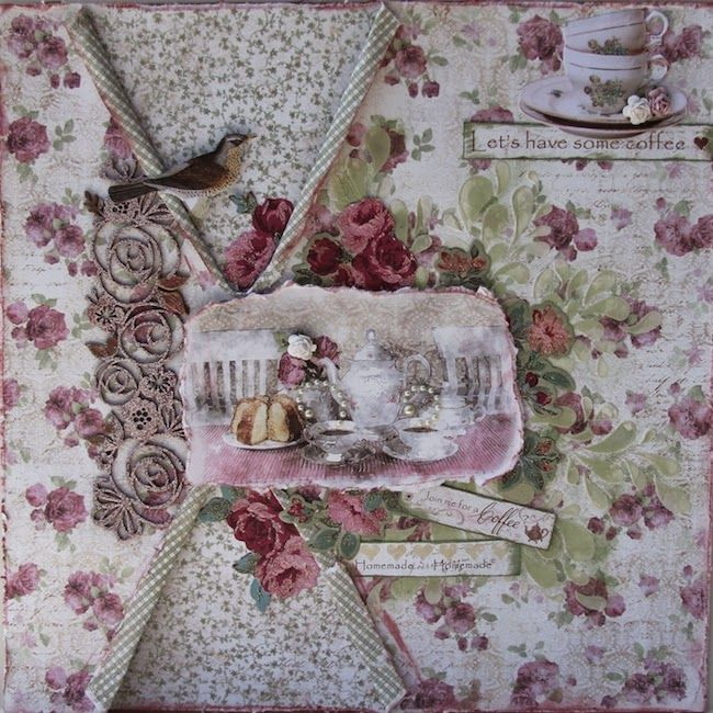 C'est Magnifique Kits: TAMMY'S DAY TO SHARE THE OCTOBER KIT