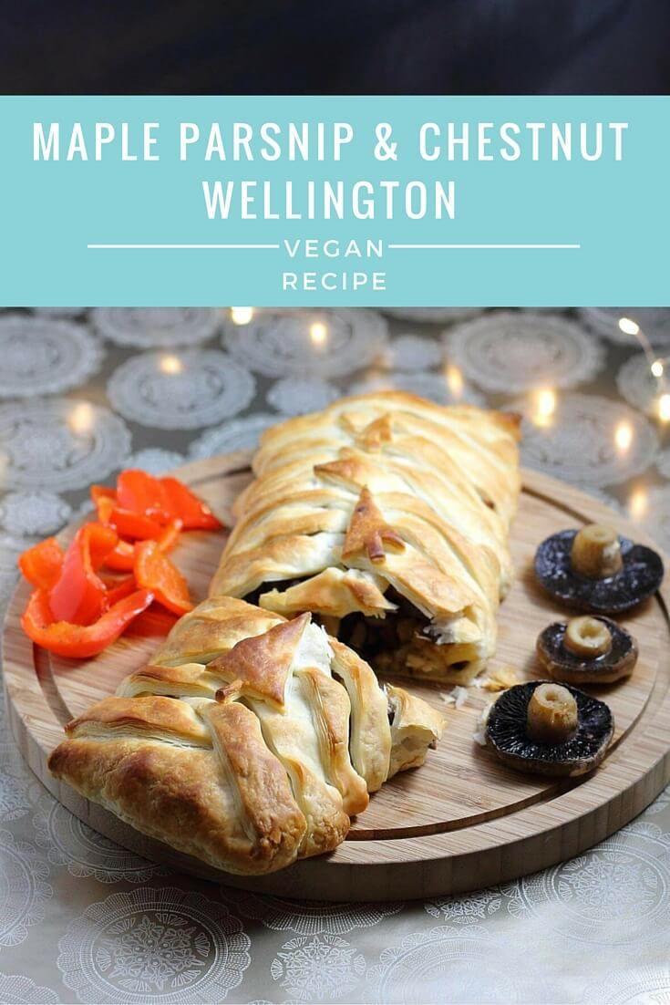A Very Vegan Christmas - Maple Parsnip & Chestnut Wellington