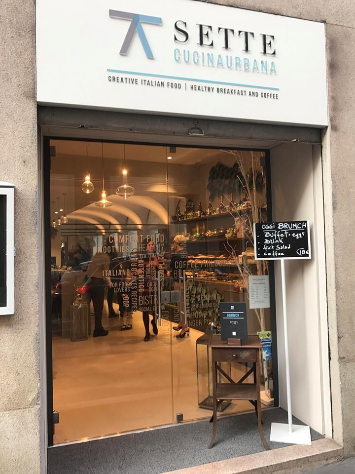 Sette Cucina Urbana offers our Casanova Prosecco! Go and visit this restaurant in MILAN! #milan #food #italy #casanova #prosecco #bubbles #fashion #restaurant