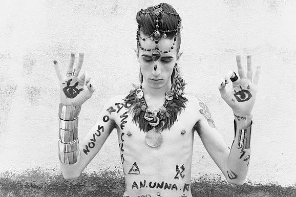 Kabalistic  inspired photoshoot by fashion photographer Antonella Arismendi.