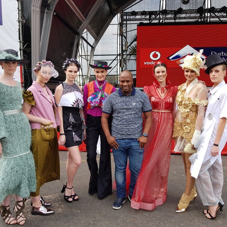 De philosopher DJ Kyos at Durban July.  #VDJ2017 #vdj17 #vodacomdurbanjuly #fashion #models #djkyos