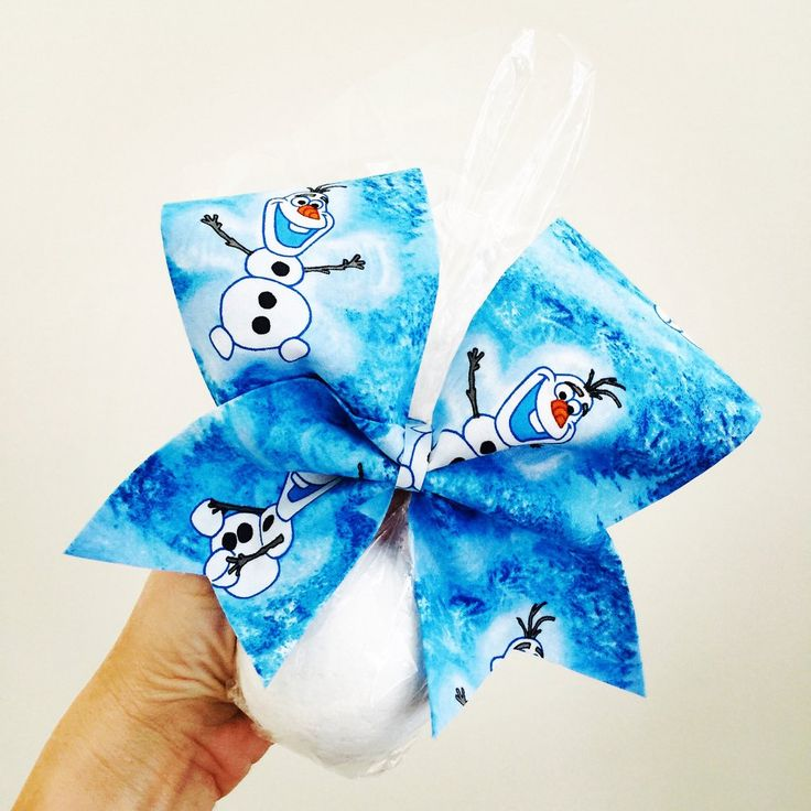 Olaf Snowball Bath Bomb Cheer Bow Set Peppermint Scented soothing and moisturizing