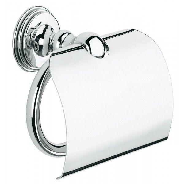 Держатель туалетной бумаги GROHE Sinfonia с крышкой хром 40053000