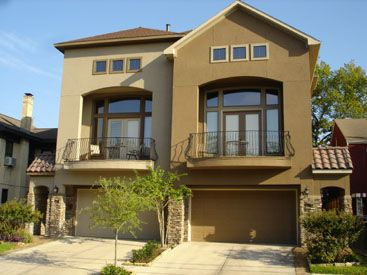 Exterior House Ideas, Exterior Paint Schemes With Stucco And Stone . Nice Ideas
