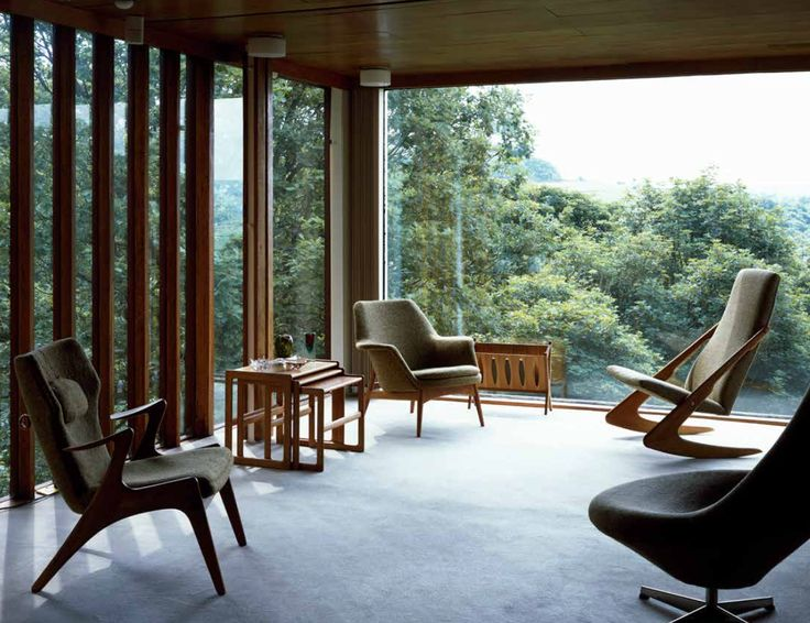 141 best midcentury magazine images on pinterest mid for Modern house yorkshire