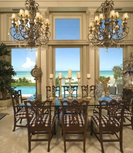 The Cliff House Dining Room Awesome Decorating Design