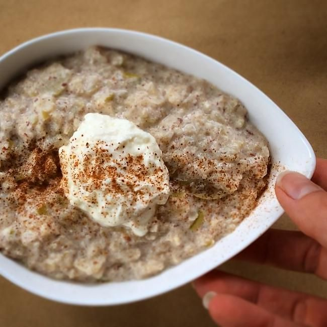 Fuel Fit | Warming Oatless Oatmeal