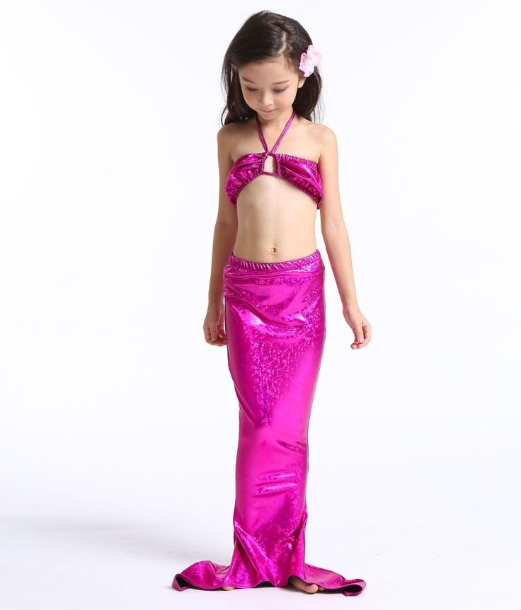 >> Click to Buy << tail mermaid swimming kids mermaid tails costume child little mermaid bathing suit ariel the little mermaid costume for girl #Affiliate