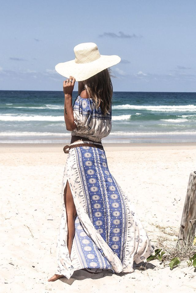 Boho Beach Style • I'm ready for the Sand & Sea in this lovely Style