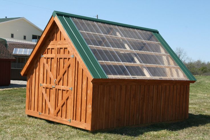 17 images about garden houses on pinterest a shed for Greenhouse skylights